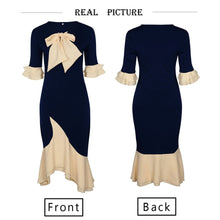 Load image into Gallery viewer, Vintage Elegant Office Lady Dress - ShopAndGo.Online