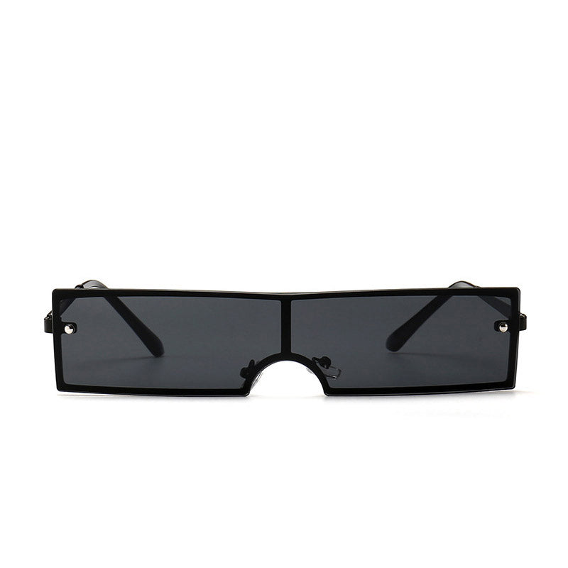 Black Shades Brand Designer Fashion Integrated Sunglasses - ShopAndGo.Online