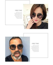 Load image into Gallery viewer, Luxury Fashion Bee Metal Frame Circle Glasses - ShopAndGo.Online
