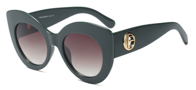 Oversize Women Cat Eye Sunglasses - ShopAndGo.Online