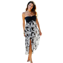 Load image into Gallery viewer, Unique Tassels Multi-color Printed Beach Skirt - ShopAndGo.Online