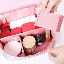 Load image into Gallery viewer, Travel Makeup Box Cosmetic Bag - ShopAndGo.Online