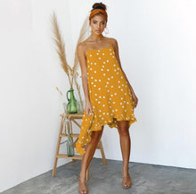 Load image into Gallery viewer, Polka Dot Print Smock Dress - ShopAndGo.Online