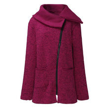 Load image into Gallery viewer, Women's casual hoodie with a long coat - ShopAndGo.Online