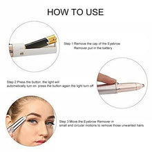 Load image into Gallery viewer, Painless Electric Eyebrow Epilator - ShopAndGo.Online