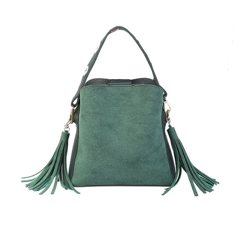 Brand Tassel Shoulder Bag - ShopAndGo.Online