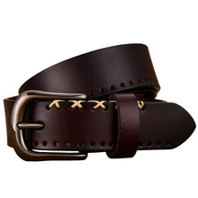 Load image into Gallery viewer, Genuine Leather Belts For Women - ShopAndGo.Online
