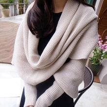 Load image into Gallery viewer, New Autumn/winter Fashion Personality Knitted Cardigan Shawl - ShopAndGo.Online