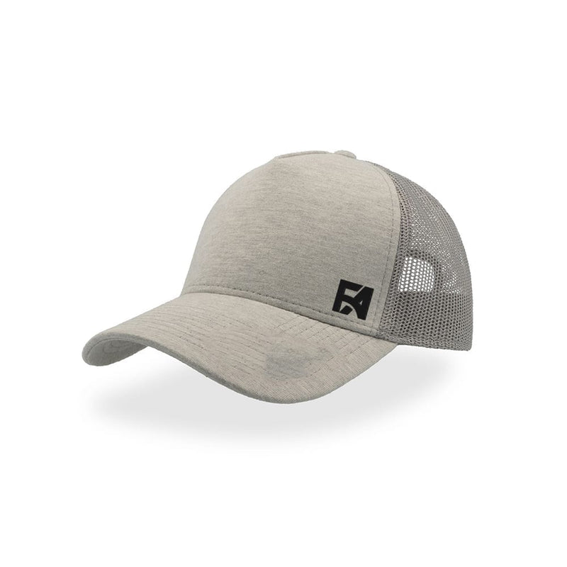 FA Basic Baseball Cap Heather Grey