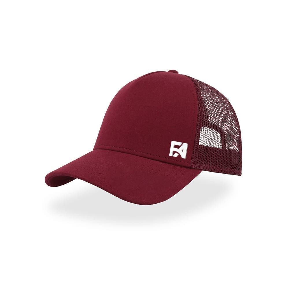 FA Basic Baseball Cap Wine Red