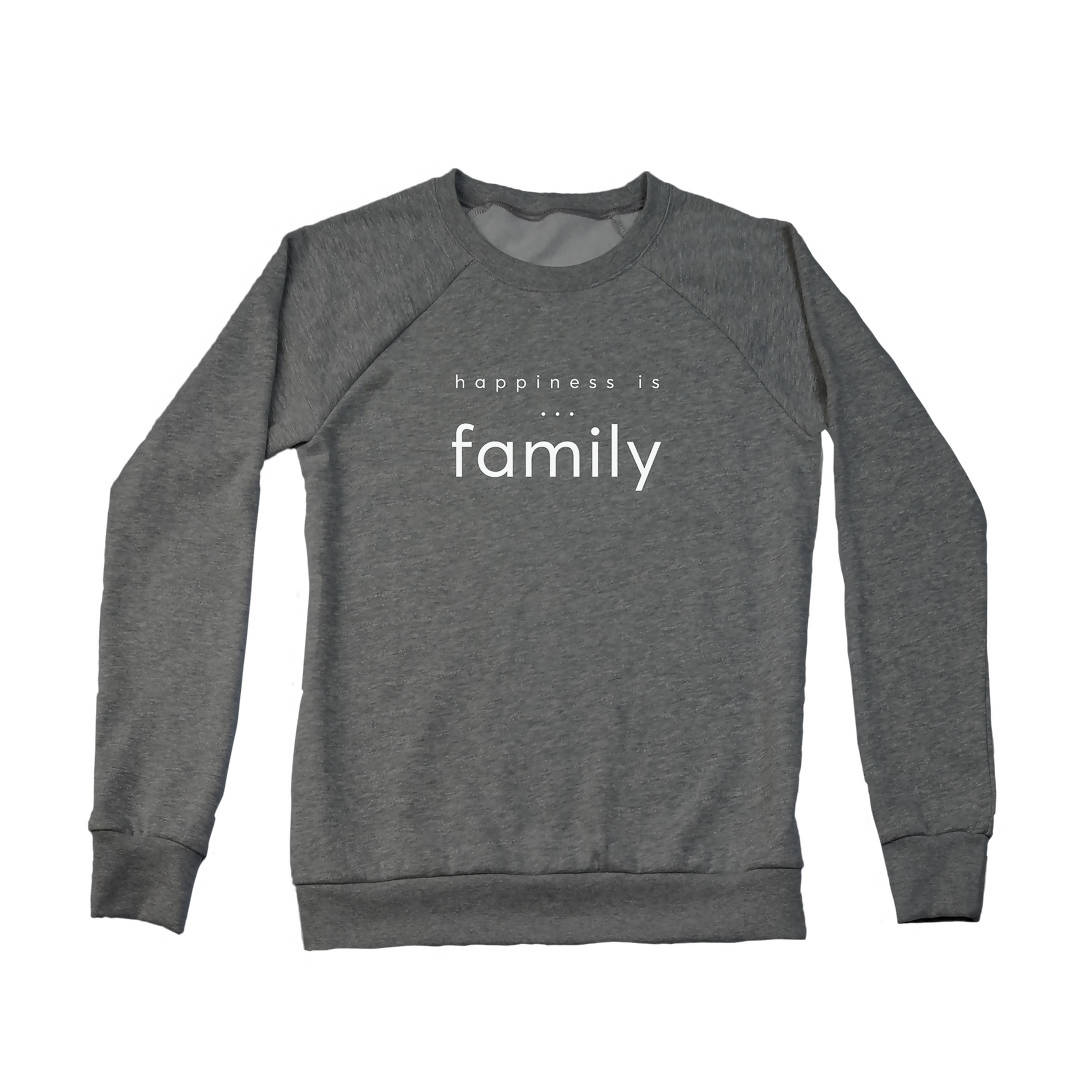 Women's Family Crew Sweatshirt, multiple colours