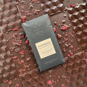 Artisan Bar: Raspberry Pink Peppercorn Dark Chocolate