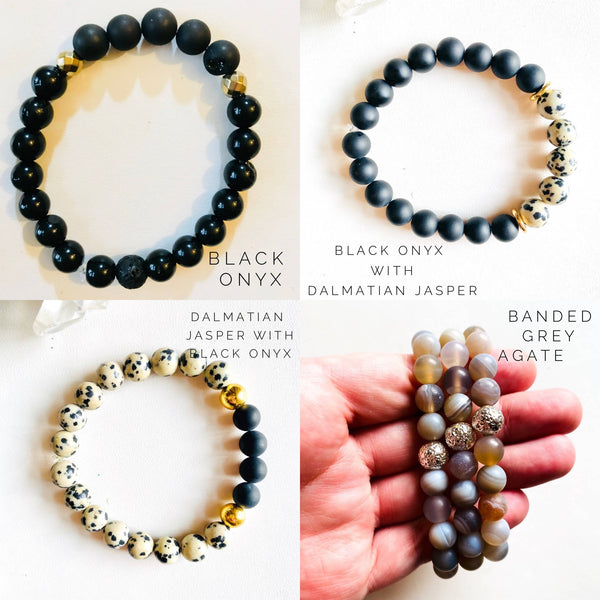 Gemstone Stretch Bracelet