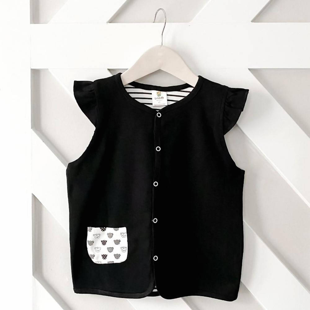 ULTRA LIGHT NITRO BLACK VEST - RUFFLES