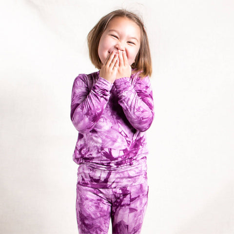 Grape Crush Bamboo PJs (Size 2-6)