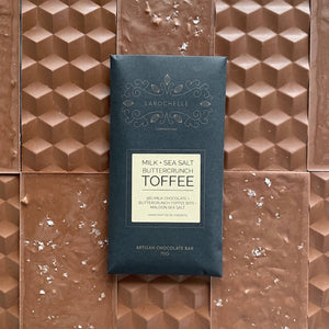 Artisan Bar: Milk + Sea Salt + Toffee Bits