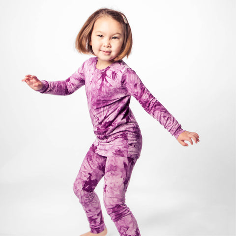 Grape Crush Bamboo PJs (8-10)