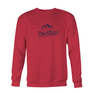 Men's Mountains Crew Sweatshirt, multiple colours