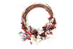 GRAPE VINE WREATH