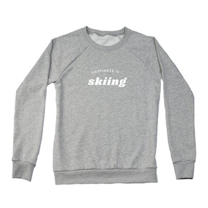 Women's Skiing Crew Sweatshirt, Multiple Colours