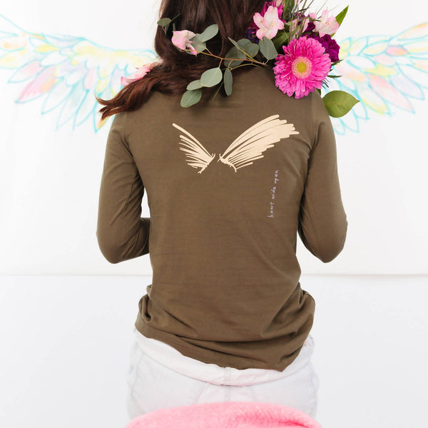 Lovbird Let Go Long Sleeve T-shirt