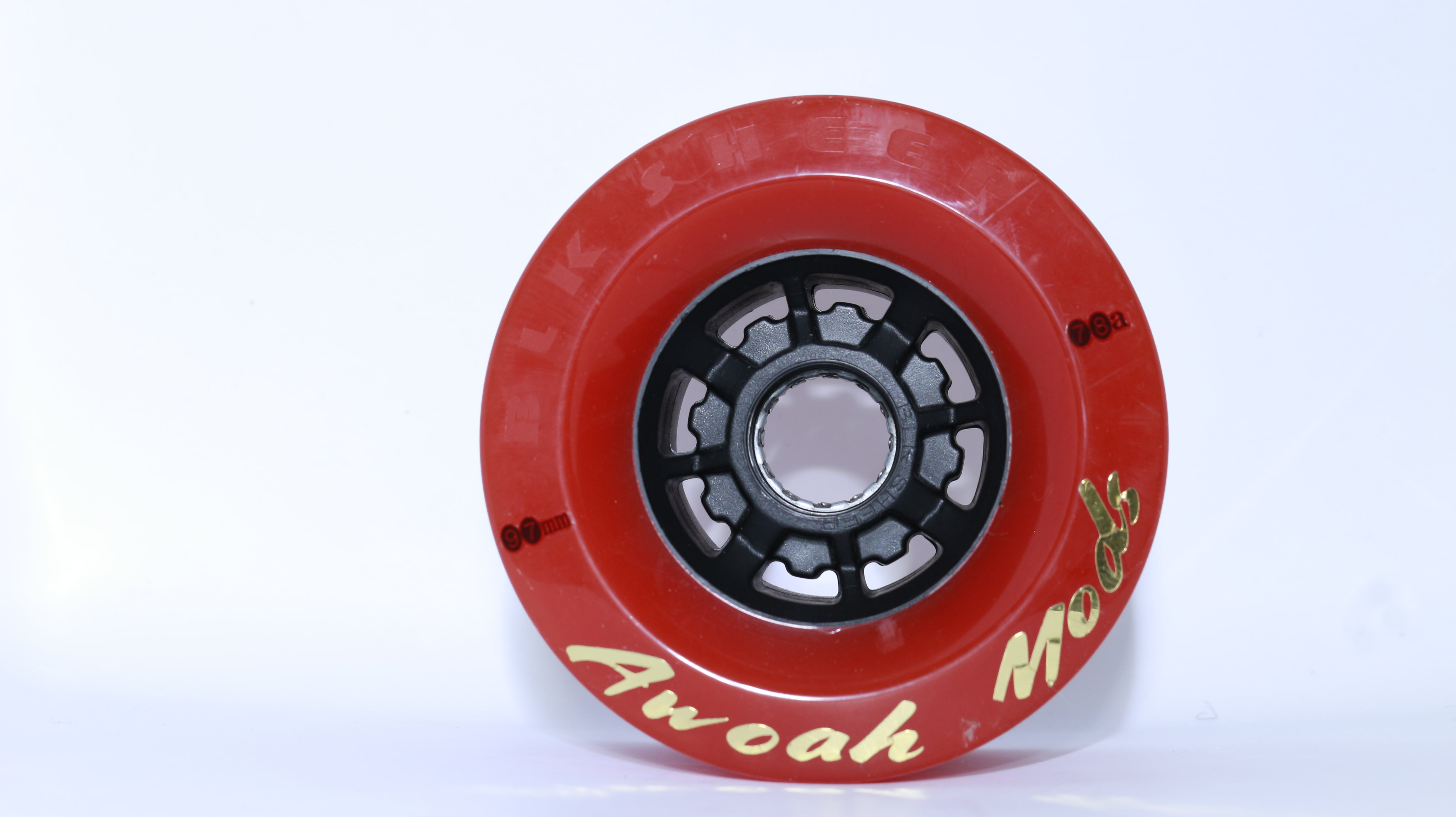 AWOAH Magma Red Wheels 4-pack