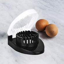 Load image into Gallery viewer, 2129 Oval Shape Plastic Multi Purpose Egg Cutter/Slicer with Stainless Steel Wires