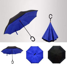 Load image into Gallery viewer, 0233 Travel Windproof Umbrella (Reverse Umbrella)