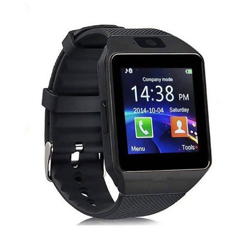 NAVYA DZ09 Bluetooth Smart Watch with Touchscreen/Sim Card Support All Smartphones (Black)
