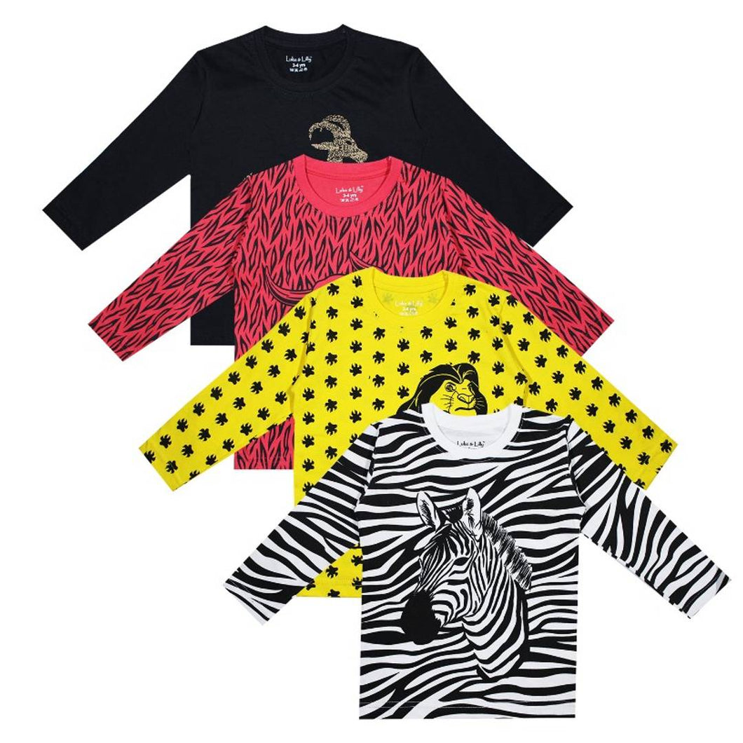 Luke and Lilly Boys Tshirt - Pack of 4