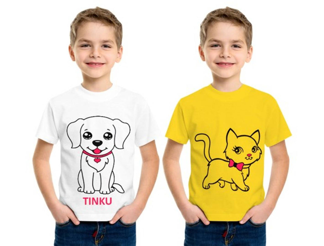 Luke and Lilly Boys Tshirt - Pack of 2