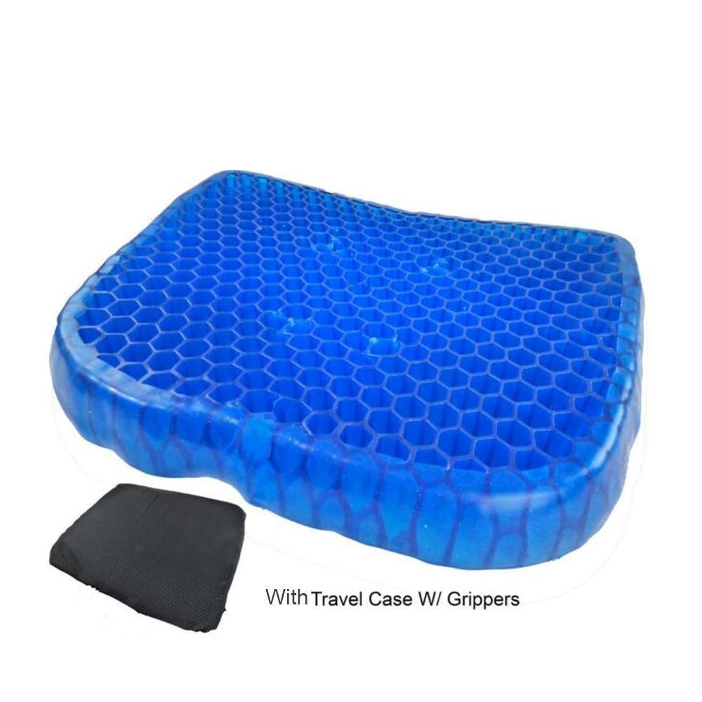0219 Cushion Seat Flex Pillow, Gel Orthopedic Seat Cushion Pad (Egg Sitter)