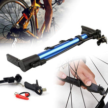 Load image into Gallery viewer, 0544 Aluminum Mini Bicycle Air Pump (Multicolor)