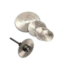 Load image into Gallery viewer, 0408 -6pcs Metal HSS Circular Saw Blade Set Cutting Discs for Rotary Tool