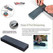 Load image into Gallery viewer, 0424 Silicone Carbide Combination Stone Knife Sharpener for Both Knives and Tools