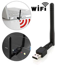 Load image into Gallery viewer, 0321 Wireless Wifi Adapter (USB wifi Antenna 5dB 150mbps)