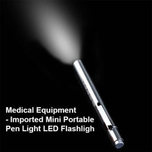 Load image into Gallery viewer, 0577 Imported Mini Portable Pen Light LED Flashlight Pocket Medical Torch Light