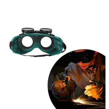 Load image into Gallery viewer, 0417 Welding Goggles (Dark Green, Large)