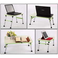Load image into Gallery viewer, 0334 Adjustable Laptop Desk Table/Study Table/Bed Table