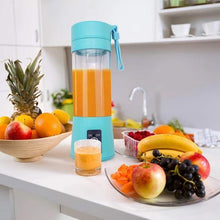 Load image into Gallery viewer, 0121 Portable USB Electric Juicer - 2 Blades (Protein Shaker)