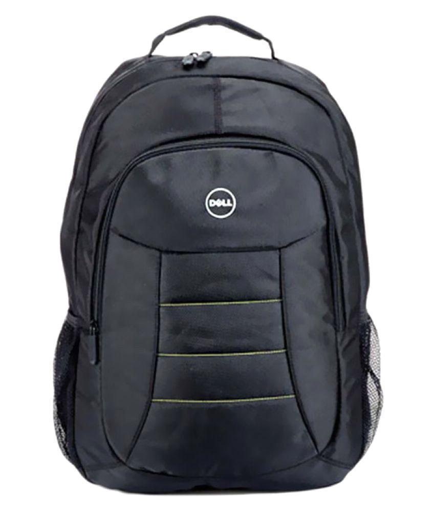 0276 Polyester Black Laptop Bag