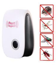 Load image into Gallery viewer, 1260 Ultrasonic Pest Repeller to Repel Rats, Cockroach, Mosquito, Home Pest & Rodent