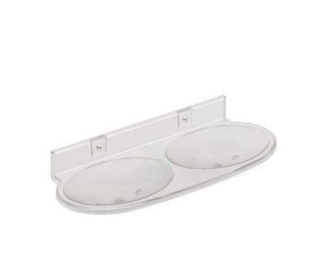 0506 Double Soap Dish Bathroom Soap Holder