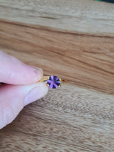 Load image into Gallery viewer, #10 Amethyst Hexagon 1ct