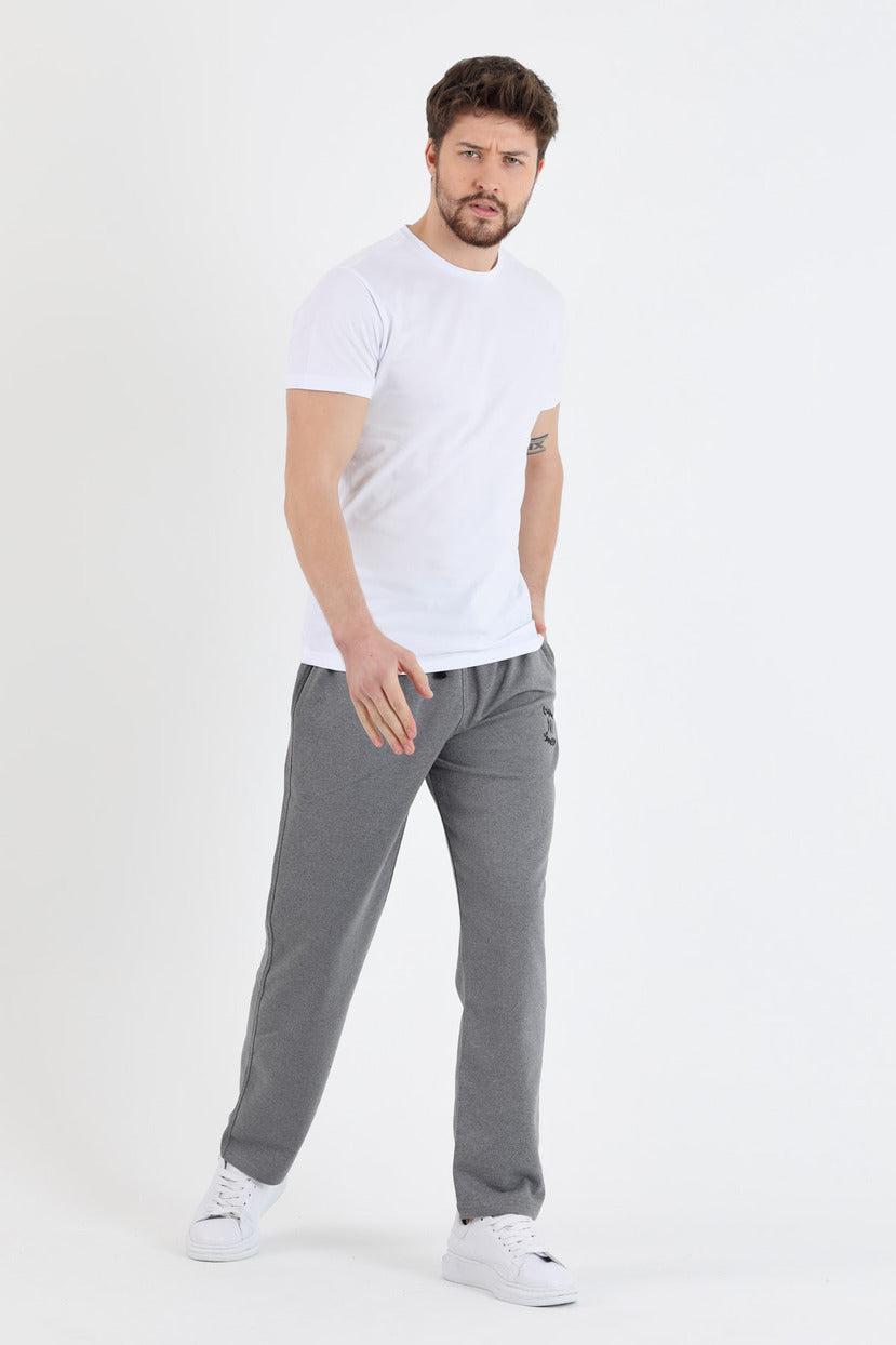 Men's Plain Black Sweatpants
