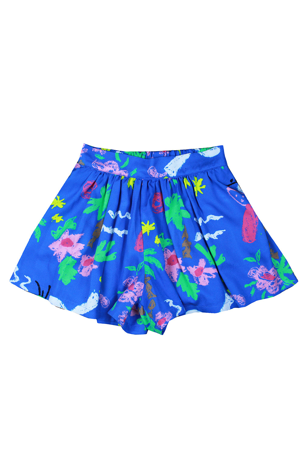 Mori Shorts Blue