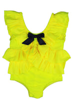 Load image into Gallery viewer, Vanda Swimsuit Fluorescent Yellow