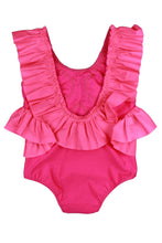 Load image into Gallery viewer, Vanda Swimsuit Fluorescent Pink