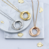 Russian Necklace – 2 Rings