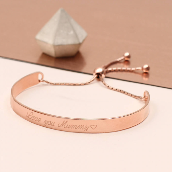 Engraved Jewellery Bangle Bracelet - Mygiavelle